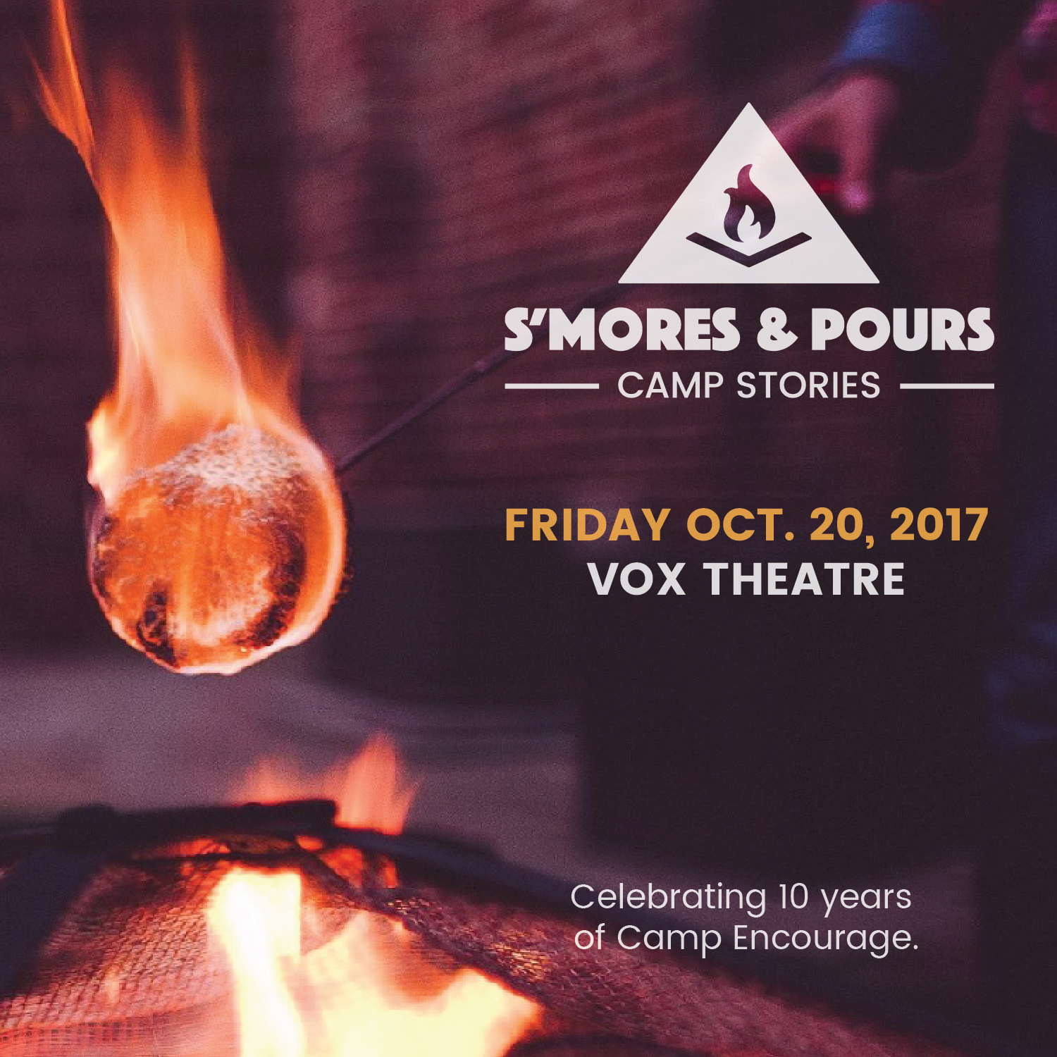 S'mores & Pours Camp Stories: Celebrating 10 years of Camp Encourage