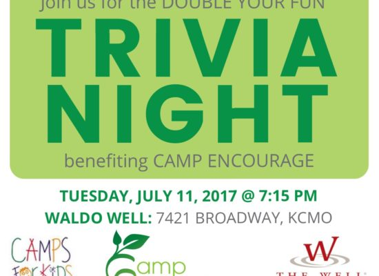 Double your FUN Trivia Night benefiting Camp Encourage