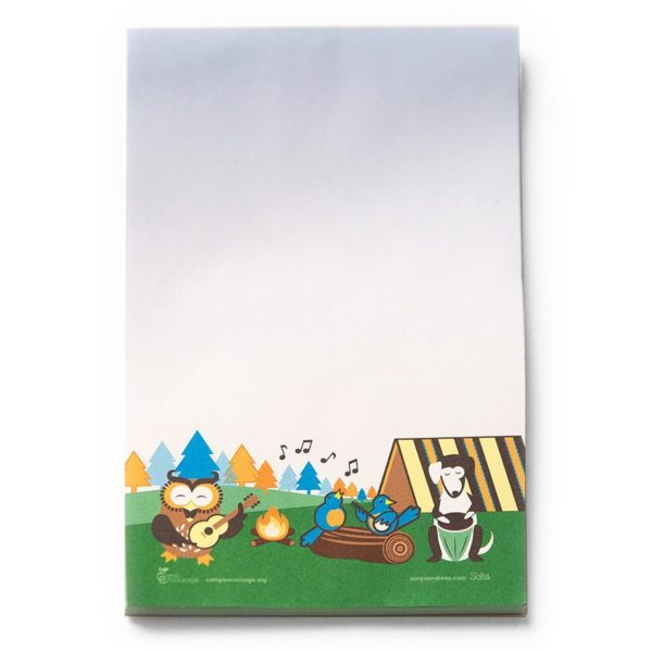 Camp Encourage Note Pad